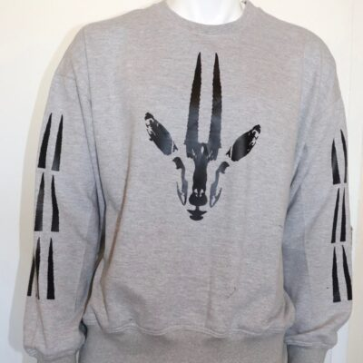 Gray Gazelle Sweatshirt
